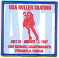 [US Artistic Roller Skating Nationals Patch]
