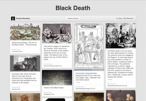 Part of Pamela Saunders' Black Death pinboard on Pinterest.