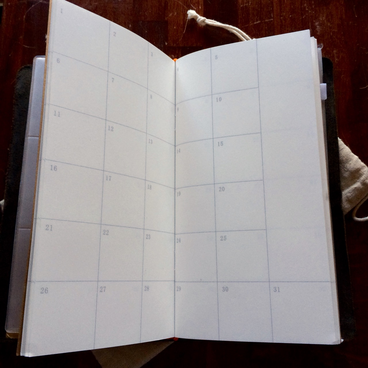 "The calendar insert is a ""free calendar""; you can use it for any month you want."